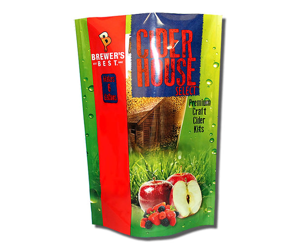 Cider House Apple Cider 6 Gallon Cider Ingredient Kit