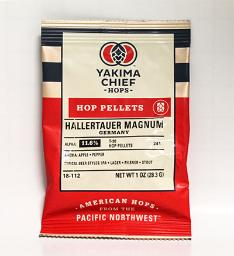 HALLERTAUER GERMAN MAGNUM HOP PELLETS 1 OZ
