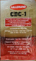 LALLEMAND CBC-1 CASK AND BOTTLE CONDITIONING YEAST 11 GRAM
