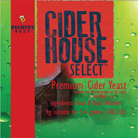 CIDER HOUSE SELECT YEAST 9 GRAM