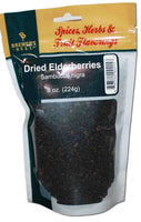 Dried Elderberries 8 OZ
