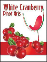 LABEL * IM WHITE CRANBERRY