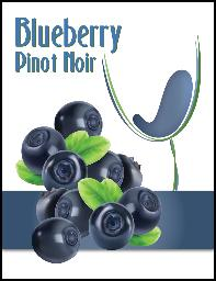 LABEL * IM BLUEBERRY PINOT NOIR