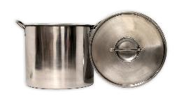ECO-POT 18 QUART STAINLESS STEEL BOILING POT WITH LID