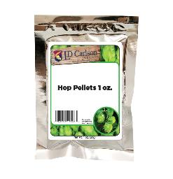 GERMAN HERSBRUCKER HOP PELLETS 1 OZ