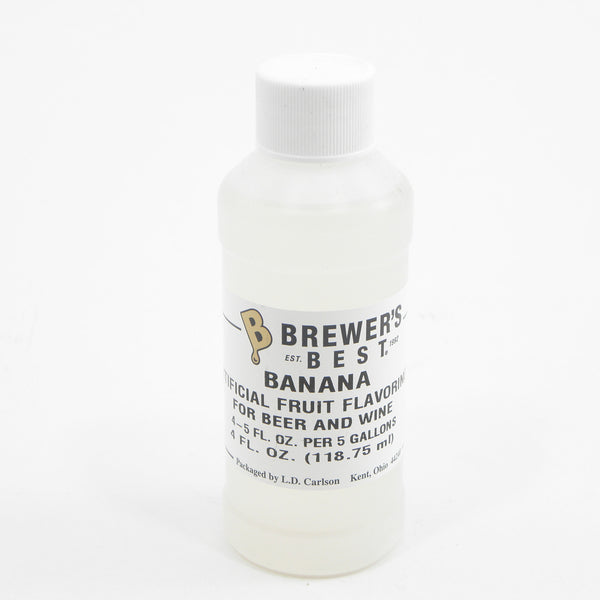NATURAL BANANA FLAVORING EXTRACT 4 OZ
