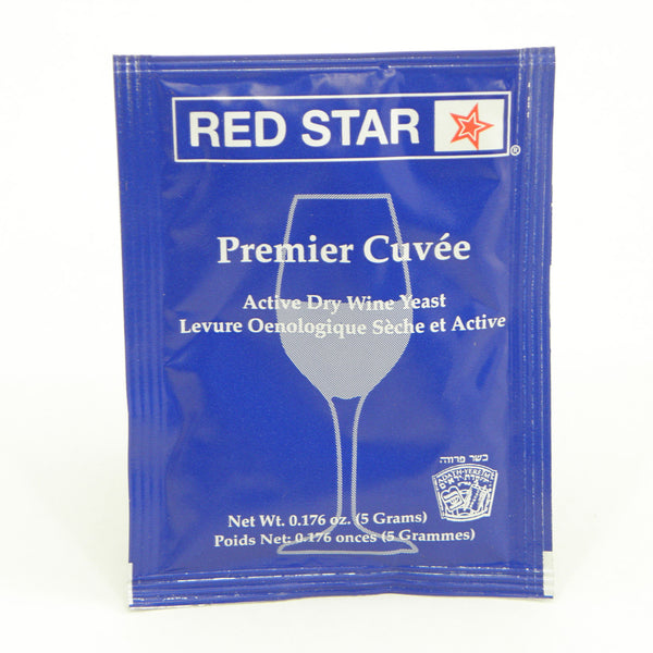 Premier Cuvee Prisse De Mouss Red Star Wine Yeast