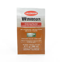 LALLEMAND WINDSOR ALE BREWING YEAST 11 GRAM