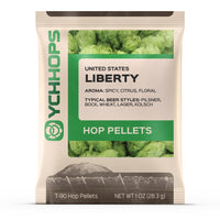 LIBERTY HOP PELLETS - 1 OZ PACKAGE