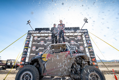POLARIS RZR® RACING WINS AT UTV WORLD CHAMPIONSHIP AND SCORE SAN FELIPE 250 SEASON OPENER
