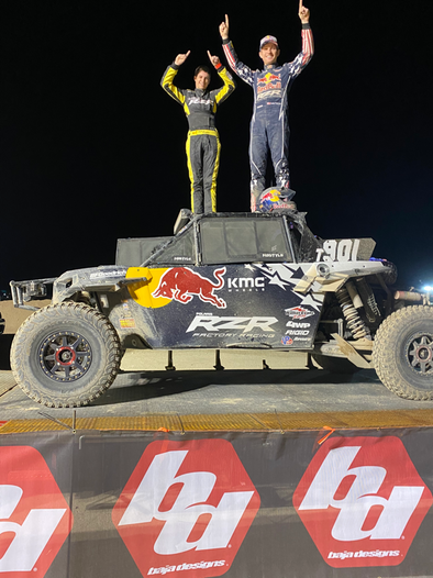 POLARIS RZR® FACTORY RACING TAKES HOME FIRST AT THE 2020 BITD KING SHOCKS LAUGHLIN DESERT CLASSIC