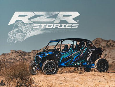 SHARE YOUR RZR STORY TO WIN A RZR!
