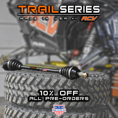RCV Performance Products Introduces the Trail Series UTV Axle