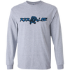 Youth Long Sleeve T-Shirt (Blue)