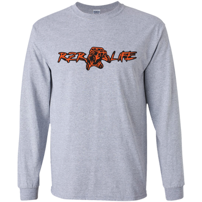 Youth Long Sleeve T-Shirt (Orange)