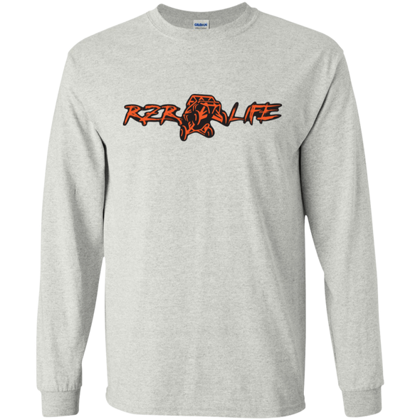 Long Sleeve Ultra Cotton T-Shirt (Orange)