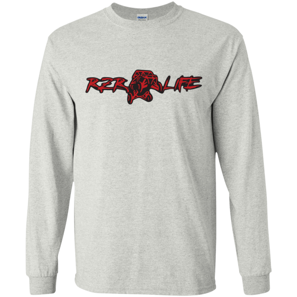 Youth Long Sleeve T-Shirt (Red)