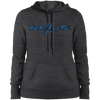 Ladies' Pullover Hooded Sweatshirt (Blue)