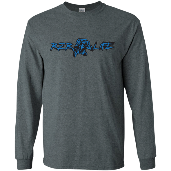 Long Sleeve Ultra Cotton T-Shirt (Blue)