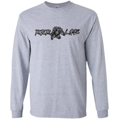 Long Sleeve Ultra Cotton T-Shirt (Silver)