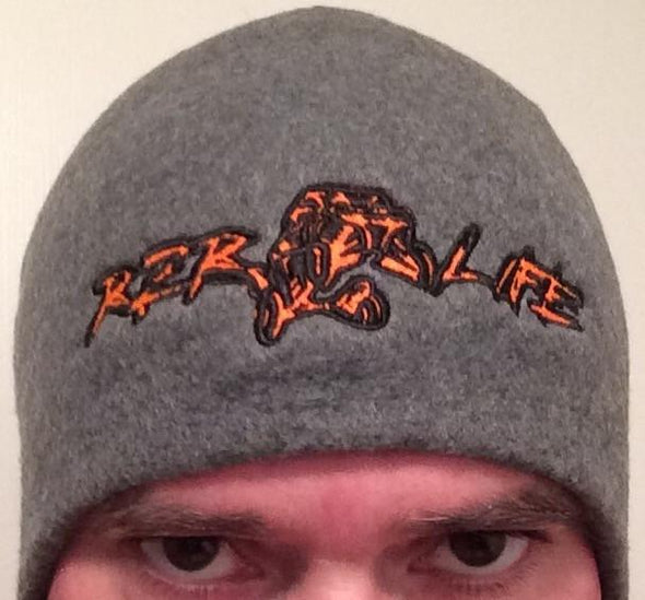 RZR LIFE Fleece Beanie - Orange