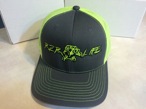 RZR LIFE Snap Back- Lime
