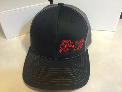 RZR LIFE Snap Back- Red