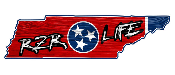 RZR LIFE Limited Edition Tennessee Decal
