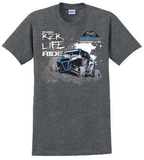 3rd Annual RZR LIFE Ride T-Shirt