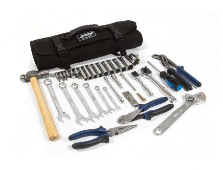 RZR ROLL-UP TOOL BAG WITH 36PC TOOL KIT