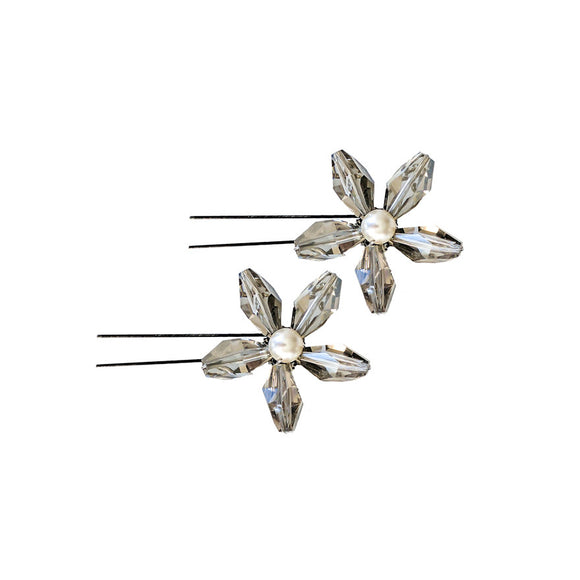 Swarovski Crystal Hair Pins - Yummii&I
