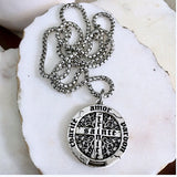 bbeni trinite coin necklace