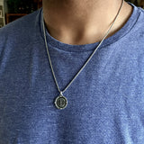 Bbeni men's Compass necklace