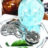 Bbeni IXOYE Coin necklace
