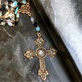 Bbeni Gabriella cross necklace