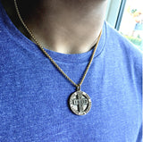 Bbeni men's IXOYE Coin necklace