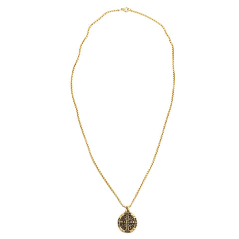 NEW! Trinité Cross Coin Necklace