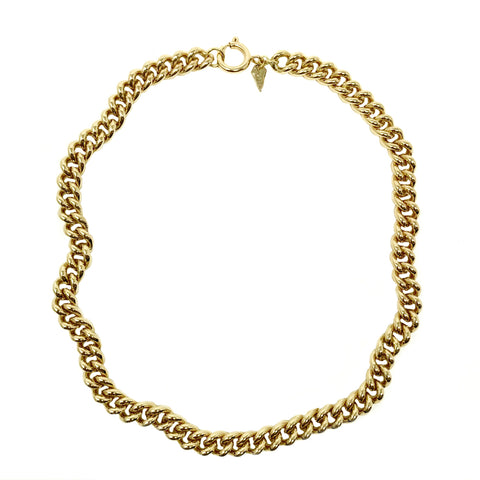 Luxurious 14K Gold Over Brass Miami Cuban Curb Chain with E-Coat Sealant - Non Tarnish!