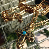 Bbeni el Shaddai cross necklace