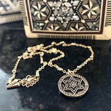 B.beni Jewish Star of David Israel Necklace