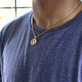 Bbeni ancient shekel necklace