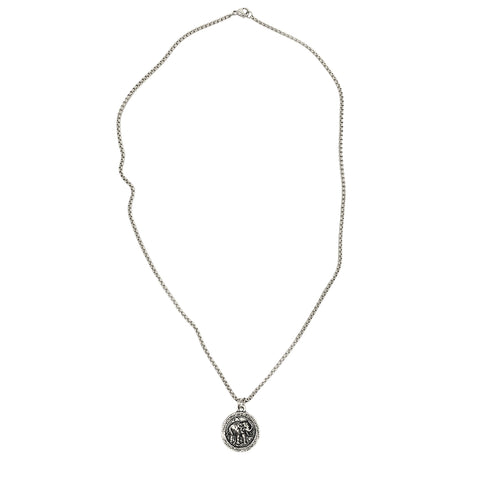 NEW! Wise Elephant Coin Necklace