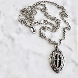 Bbeni blessed hope marquis cross necklace