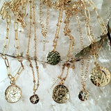 Bbeni gold necklaces