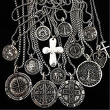 Bbeni silver men's necklaces