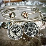 Ancient Temple Coin Bangle