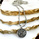 bbeni temple coin necklace