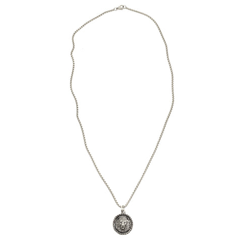 New! Intrépide Lion Coin Necklace