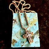 bbeni messiah cross necklace