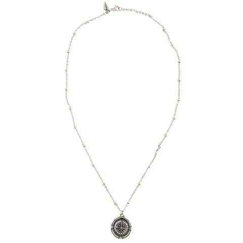 NEW! Compass Coin Necklace
